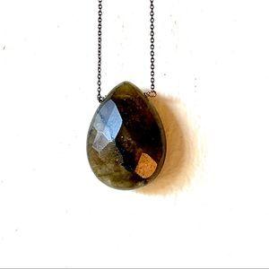 Moss green LOFT necklace - NWT!